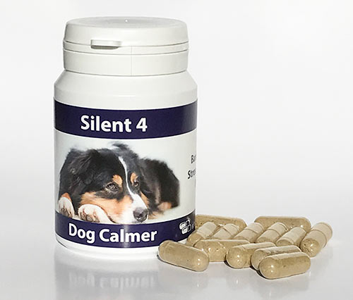Silent 4 for dogs capsules