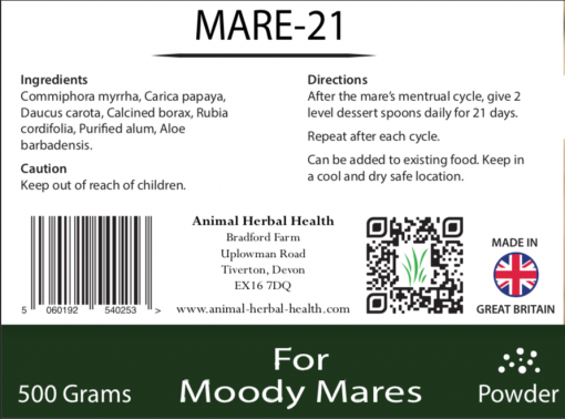 Description of Mare 21